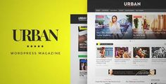 Download and review of Urban - Responsive Magazine Theme, one of the best Themeforest Magazine & Blogs themes