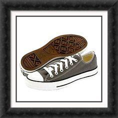 Gray Converse. On my wish list