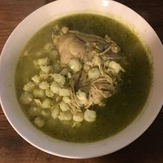 How to Make Authentic Mexican Green Chile Chicken Posole