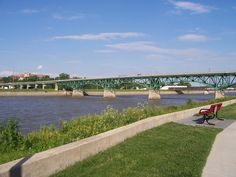 The Des Moines River that flows through my Home Town.