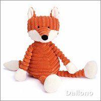 Fuchs - Jellycat Plüschfigur Cordy Roy Baby Fox - Handpuppen Shop - Living Puppets & Folkmanis