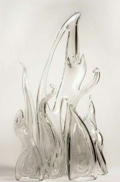 Glass Flames. 2015. Artist: Torie Rondot