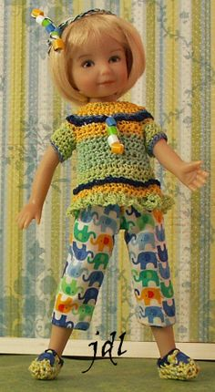 """Heartstring Grace 8"""" Dianna Effner Doll by JDL Doll Clothes"""