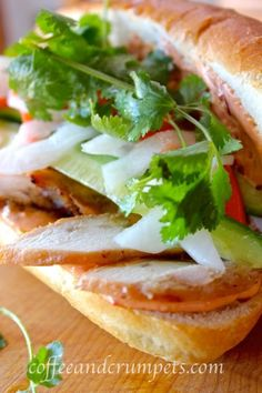 Vietnamese Chicken Sandwich