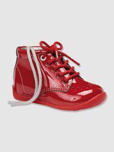Bottines spécial premiers pas fille, Chaussures