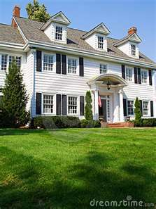 We Will Have A Beautiful Two Story Colonial Home Some Day House Landscape Steps