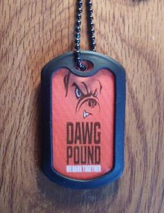 Dog Tags - Cleveland Browns Military Dog Tag by LegacySportsJewelry on Etsy