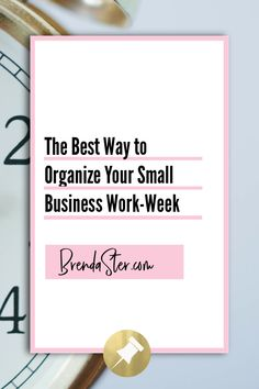Wondering how to organize your week more effectively? Juggle social media, marketing, client followup, and administrative work by organizing your week. #TimeManagement #BusinessTips Don't forget to repin this for later!! Business Tips // Small Business Tips // Direct Sales Tips // Time Management Tips