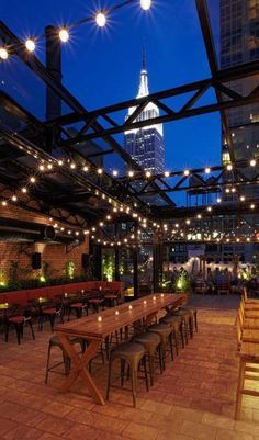 Rooftops, Skybars, Bars und Hotels mit Dachterrassen in New York | InStyle