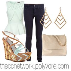 Cute and Casual Friday Outfit by theccnetwork on Polyvore