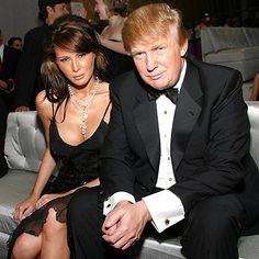 Nakt melania trump Melania Trump's