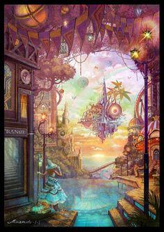 空中都市と魔女