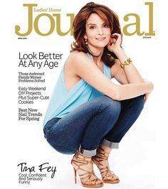 Tina Fey is Ladies' Home Journal Cover Girl