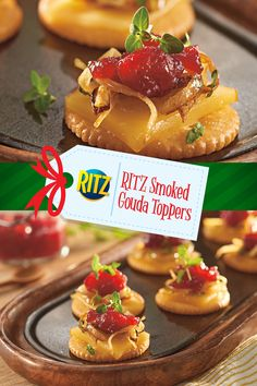 Best Appetizers, Appetizer Recipes, Snack Recipes, Diabetic Recipes, Christmas Snacks, Christmas Stuff, Ritz Cracker Recipes, Delicious Desserts, Yummy Food