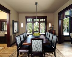 Traditional Dining Room Design, Pictures, Remodel, Decor and Ideas - page 11