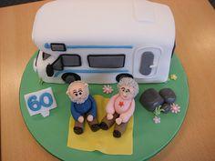 Camper van cake, via Flickr.