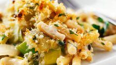 Macaroni met prei en room - Libelle Lekker