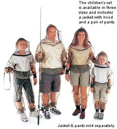 How about if I get you this Bug protection clothing for your birthday???