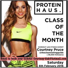 Guys Don't forget to EMAIL me if you want to book a slot for my HIIT BOOTCAMP with @proteinhausuk on Saturday 6th February @ 2pm Canary Wharf!  There are plenty of tickets available you can either pick them up from @proteinhausuk in Canary Wharf direct message me on Instagram to pay via pay pal OR email me at Courtney-tluk@hotmail.com to book your slot and you can pay on the day! I promise It's going to be so much fun bring along your friends or come alone - you've got plenty of time to re…