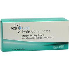 APA CARE Professional Home Zahncreme:   Packungsinhalt: 15 ml Zahncreme PZN: 06560964 Hersteller: Cumdente GmbH Preis: 5,19 EUR inkl. 19…