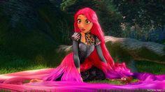 Punk disney Rapunzel