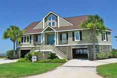 Sullivan's Island Vacation Rental House Oceanfront: Marshall Blvd. 3113 | Island Realty