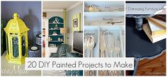 20 DIY projects with paint