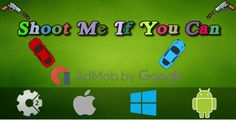 Shoot Me If You Can (Local Multiplayer) + Admob - Construct 2 Game . Shoot Me If You Can is a fun game.Protect your car from the guns shooting bullets.It is a multiplayer game where 2 people can play.This game is compatible with Admob.This game is created using Construct
