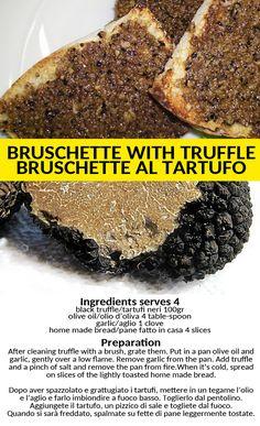 Black Truffle, Truffles, Garlic, Bread, Homemade, Desserts, Recipes, Food, Tailgate Desserts
