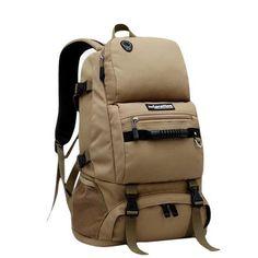 40L Large Capacity Sports Travel Backpack Waterproof Nylon Backpack For Women Men