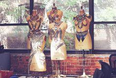 Dannijo studio. beautiful pieces made into jewelry-armor