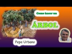 Comó hacer un árbol - YouTube Nativity, Youtube, Scene, Portal, Diy, Leaves, Tents, How To Make, Miniatures