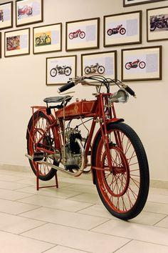 PATRIARCA & GUIZZARDI 125 Valvole in Testa, 1926   Credits Studio129 by Turismo Emilia Romagna, via Flickr