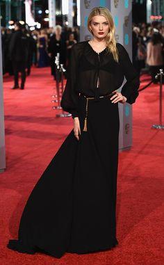 Lily Donaldson from 2016 BAFTA Film Awards: Celebrity Arrivals | E! Online