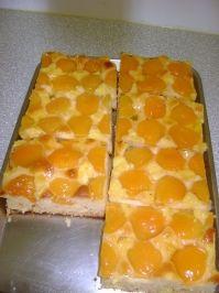 Blechkuchen mit Marillen (Aprikosen) - Rezept - kochbar.de