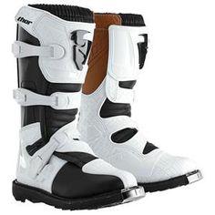 Thor Motocross Womens Blitz CE Boots - White