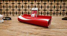 Coca-Cola Print Ad Transforms Into A Simple DIY iPhone Speaker - DesignTAXI.com