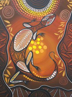 Colin Wightman - Aboriginal Art Indigenous Art, Native Art, Art Painting, Dots Art, Art For Art Sake, Australian Art, Mural Art, Art, African Art