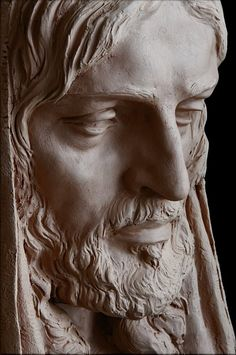 NOTICIAS... SANTIAGO NUEVO Sculpture Clay, Portrait Sculpture, Sculpture Head, Sculpture Art, Jesus Images, Jesus Christ Statue, Statue, Pictures Of Jesus Christ, Jesus Statue Sculpture