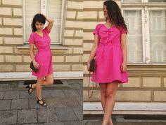 Różowa sukienka | hello summer!