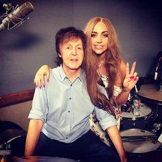 Lady Gaga 150204 w. Paul McCartney