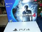 PS4 Playstation 4 500gb Uncharted 4 Edition Console BOX ONLY w/ Manuals