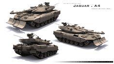 J A G U A R . A 4 . UWMod by ~exizt on deviantART