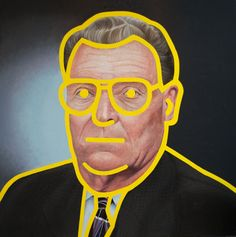 Eirik Stensrud, Graham, 73 (I'm just repinning, so is that the artist's name? It looks more like Reagan.)