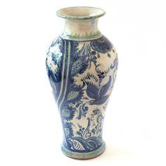 Emilia Ceramics Tall Pajaros Vase