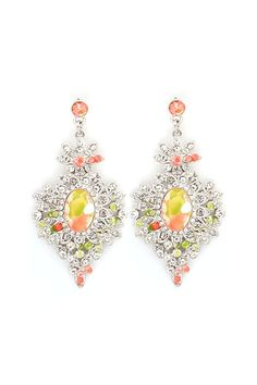 Crystal Leigh Earrings in Sunrise on Emma Stine Limited