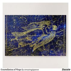 Constellation of Virgo Jigsaw Puzzle