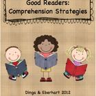 "This wonderful packet promotes practice of several different comprehension strategies displayed by ""Good Readers!""  These handouts can be used as a..."