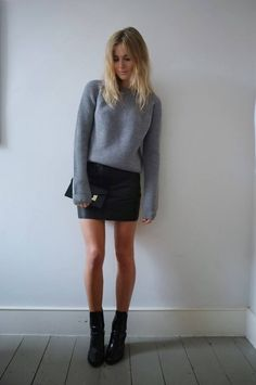 I love this look! So casual yet so fab!                                                                                                                                                     More