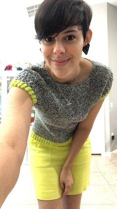 Bobble Crochet, Bobble Stitch, Granny Square Crochet Pattern, Single Crochet Stitch, Crochet Yarn, Easy Crochet, Crochet Stitches, Free Crochet, Crochet Designs